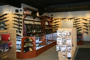 Accurate Firearms New Store Interior 2