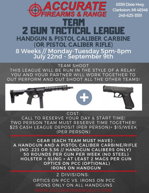 2 Gun Tactical League