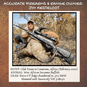 Jim's 2020 hunt in Cameroon, Africa!
