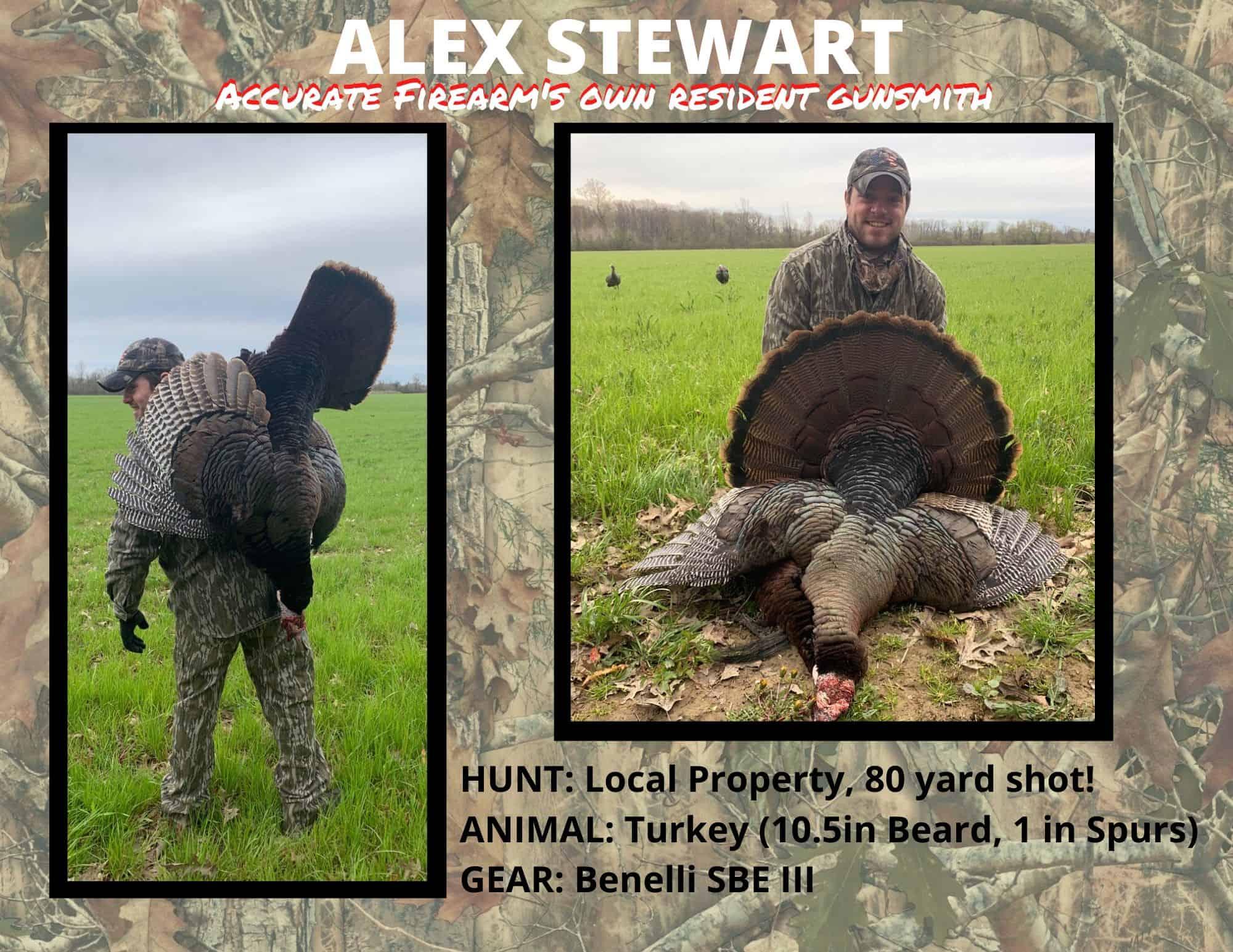 ALEX STEWART turkey